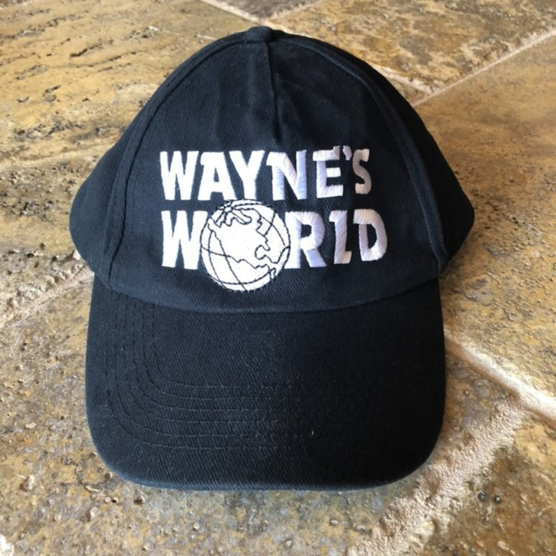 52a09d608d8d3 Vintage 1992 Waynes World Limited Edition SnapBack