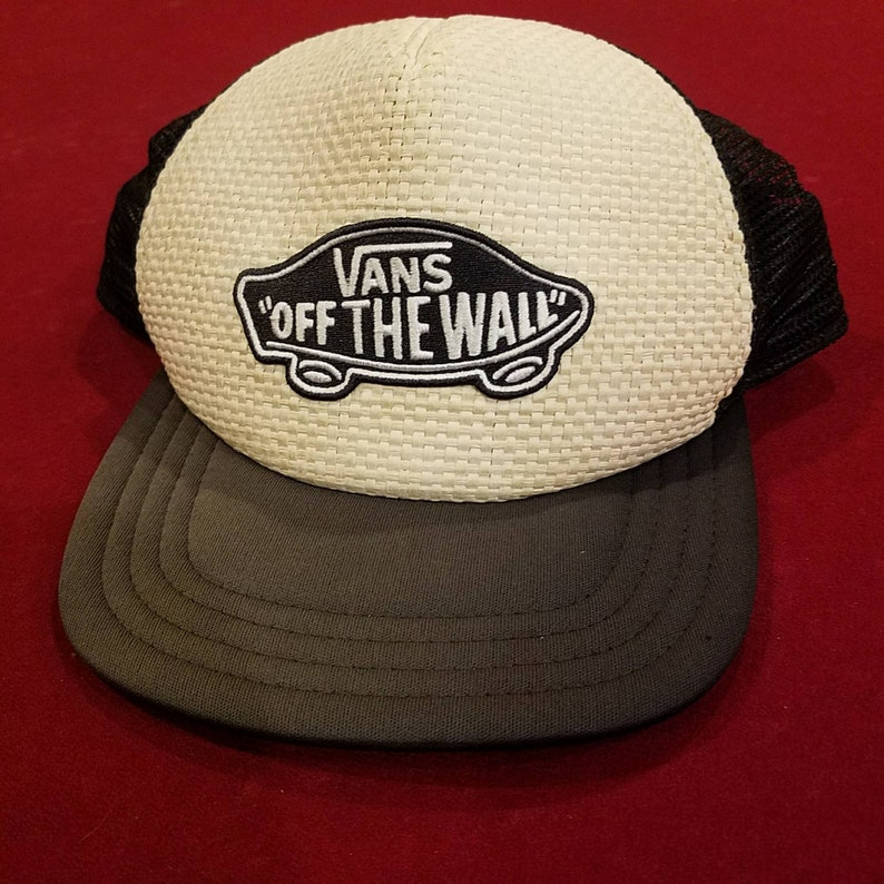 ef5181e18b Vans Off The Wall Wicker snap back hat