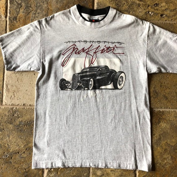 1991 Automotive Graffiti Classic Hot Rod T-Shirt