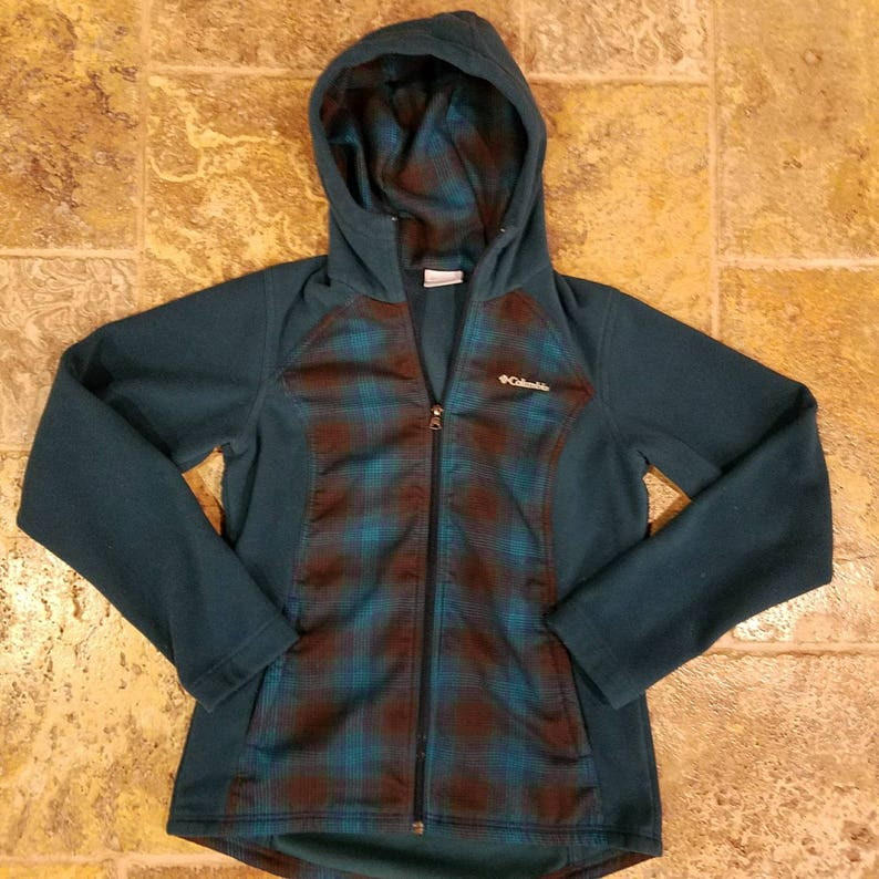 Two tone columbia zip up jacket 1010 condition