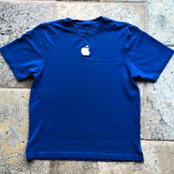Vintage Mac Embroidered Apple T-Shirt