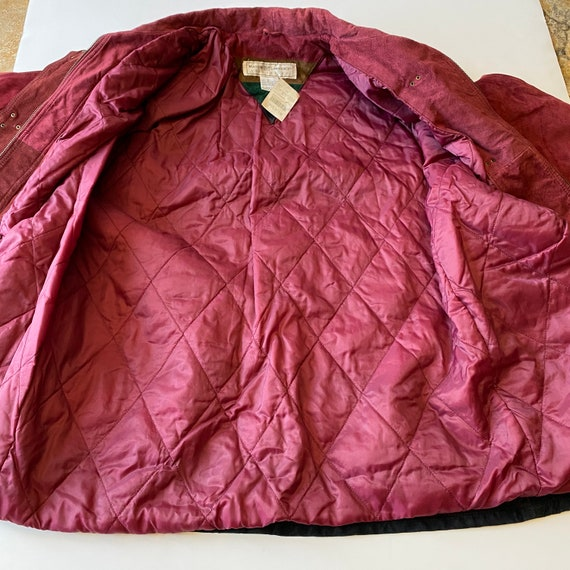 Vintage Maggie Lawrence Red Leather Renaissance M… - image 4