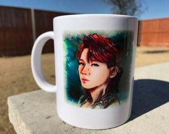 EXO's Baekhyun 11 oz ceramic mug