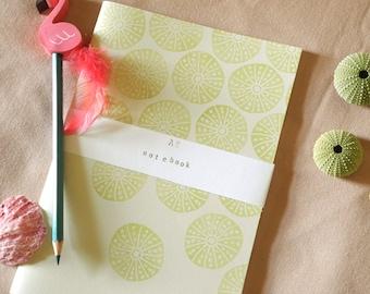 Sea Urchin Notebook! Green sea urchin notebook