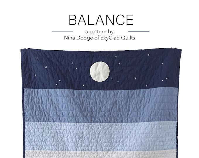 Balance Quilt Pattern