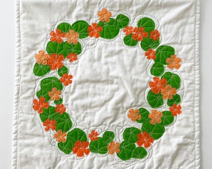 Nasturtium Wreath (medium)