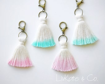 Tassel Keychains - Bag Charm - Boho Keychain