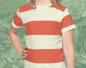 "Giulia Cosplay Kids Tee ""Knitted"" Style"