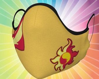 Sunset Forgiveness Mask (Adult & Kids Sizes) Cosplay Costume MLP Shimmer