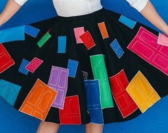 Monsters, Inc-Inspired Poodle Skirt