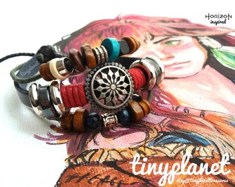 Horizon Zero Dawn Bracelet Gaming Jewelry Aloy Nora Tribal UK Seller