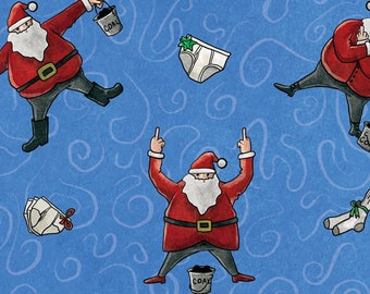 up yours santa funny christmas wrapping paper - Funny Christmas Wrapping Paper