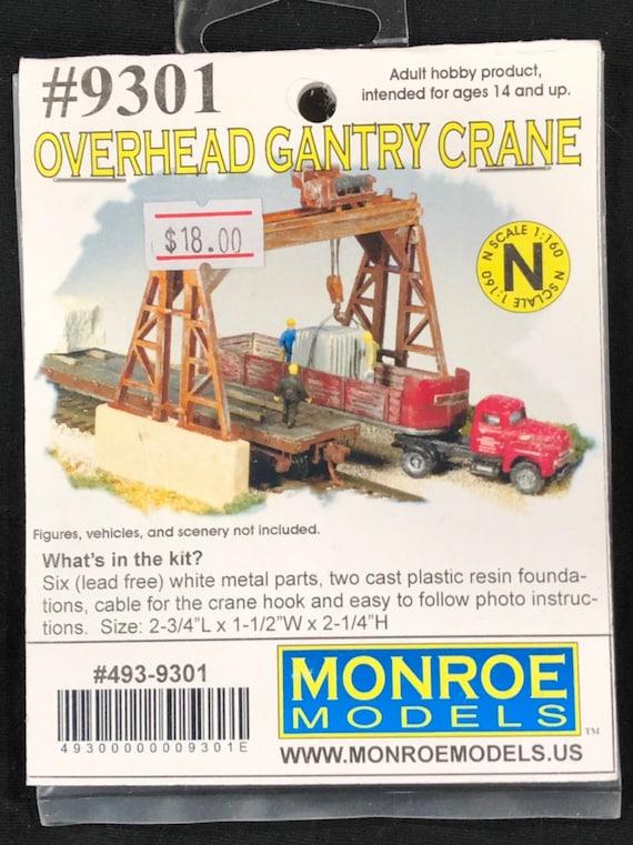 Overhead CRANE....Overhead Crane Built up HO scale FINISHED Model 1//87 scale