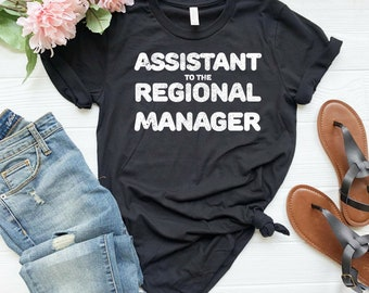 b21b371dcf Assistant to the Regional Manager shirt I am the Boss shirt Boss gift Boss  appreciation Like a Boss Funny gifts for boss Boss day