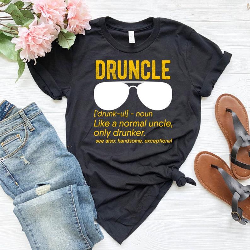 8b7b902c4 Druncle Definition Shirt Beer shirt Drunk uncle Druncle | Etsy