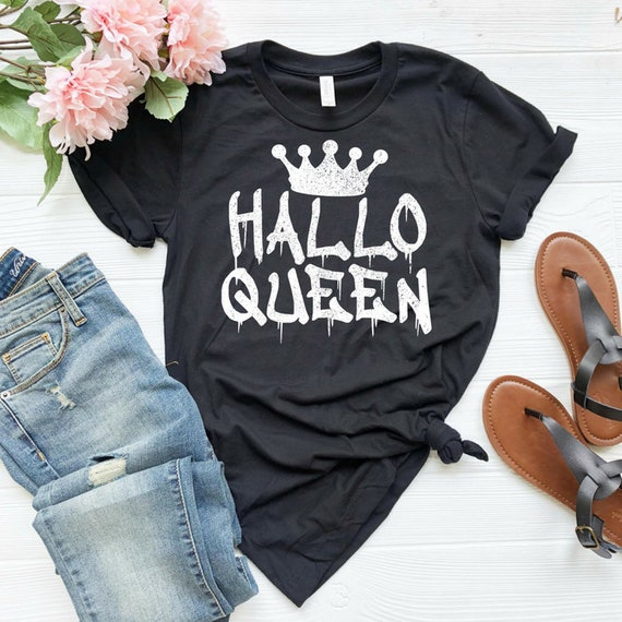 Hallo Queen Shirt