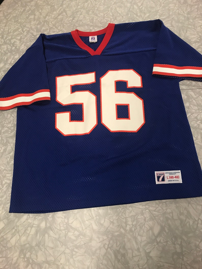 the best attitude efbb3 62b84 Vintage Lawrence Taylor New York Giants jersey by Logo 7 size Large