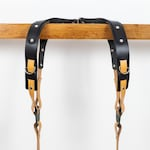 Premium Dual Camera Harness for Photographers. Comfortable Double Harness. Soft Leather Strap. Shoulder Camera Strap. Multi Strap for You