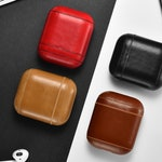 Premium Leather AirPods Case. Genuine Leather Case. Airpods Holder Cases.  Handmade Case.