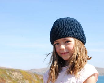 Ardoise knitted beanie