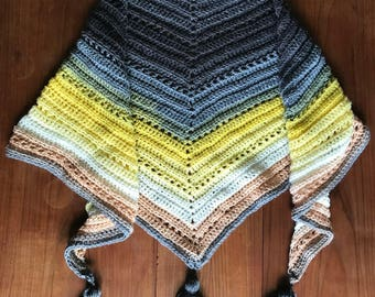 Aquarius Triangle Scarf