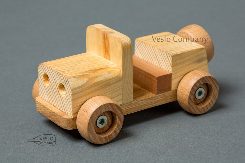 Madera De Mano Coche Mb Niños Hecho Juguete Willys A hCQxtrdsB