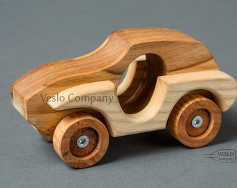 Wooden car - Kids toy car - Land Rover - Wooden toy car - Handmade car