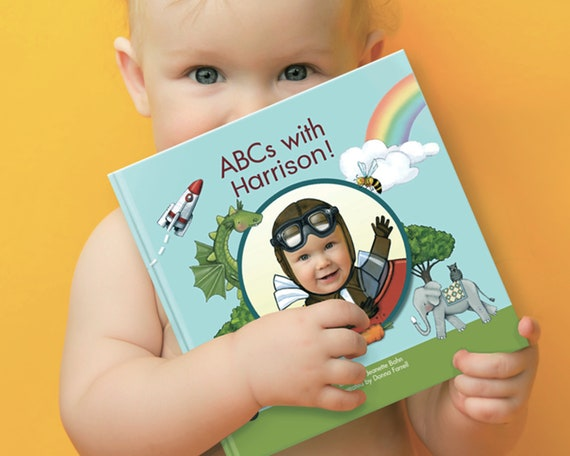 ABCs With Me Personalized Alphabet Book Baby