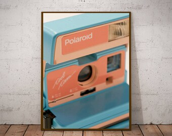 Vintage Polaroid Posters, instant digital printing. Decoration room, office, room. Gift for lovers photography, birthday brother