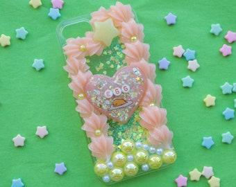 Fits iPhone 7/8 Glitterfall Egg Decoden Case