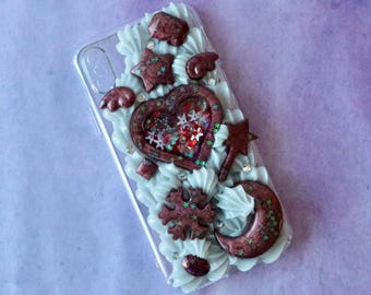 Fits iPhone X Shaker Silvery Decoden Case