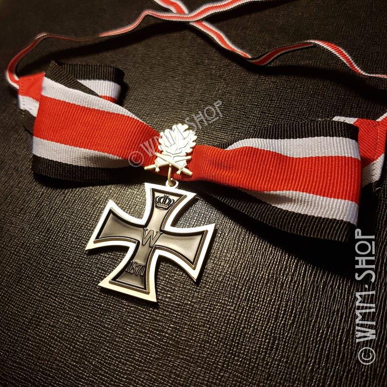 WW1 German Military Medal Knights Cross of the IRON CROSS 1870 1813 German  Army Uniforms WWI Oak Leaf Military Army Surplus