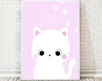 Kitty Milly print