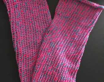 Knitted Two Colored Scarf