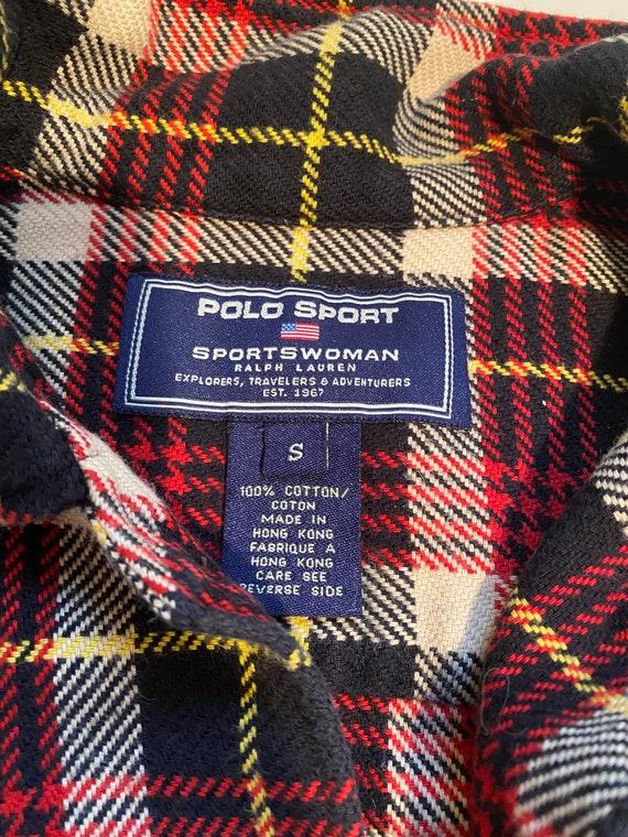 Vintage plaid Polo Sport overshirt - image 3