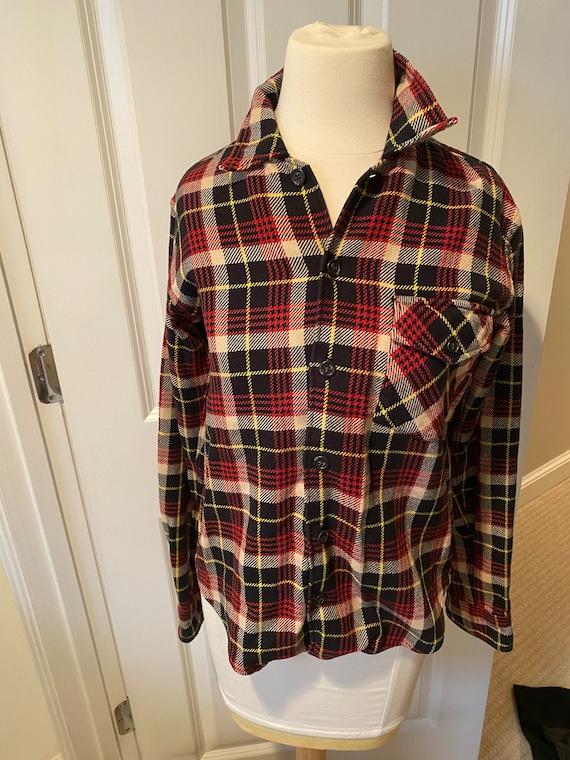 Vintage plaid Polo Sport overshirt - image 1