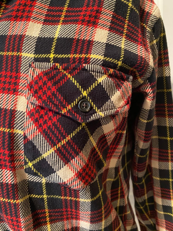 Vintage plaid Polo Sport overshirt - image 2