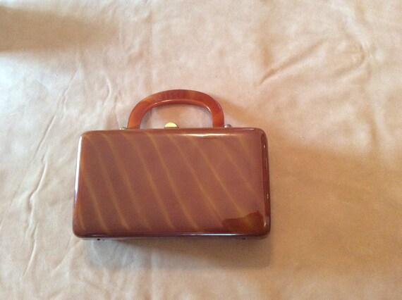 Vintage 1940s/50s Purse Handbag Mid-century Modern