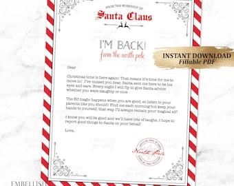 christmas elf arrival letter elf welcome letter elf goodbye letter holiday elf printables fillable pdf