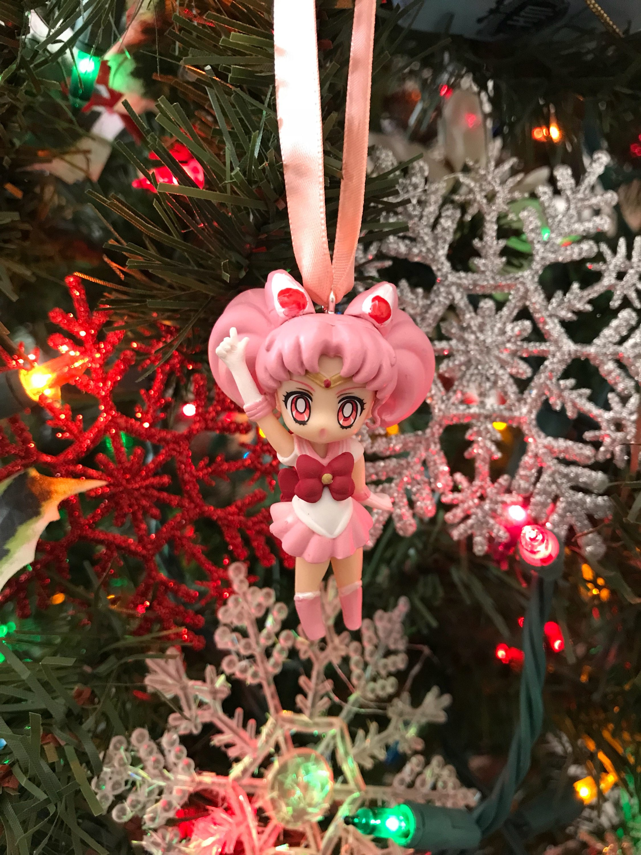 Sailor Chibi Moon aus Sailor Moon Urlaub Weihnachten Ornament | Etsy