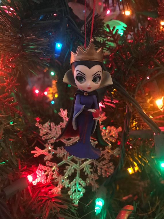 Evil Christmas.Evil Queen From Snow White Holiday Christmas Ornament