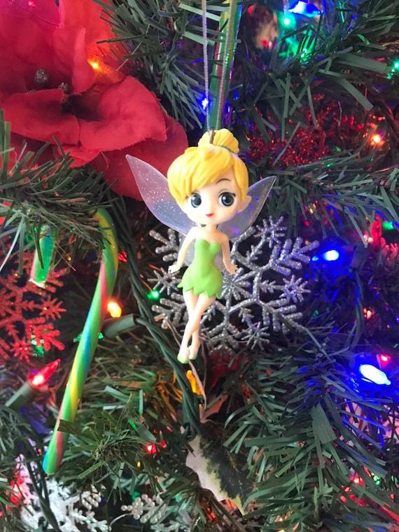 Christmas Tinkerbell.Tinkerbell Holiday Christmas Ornament