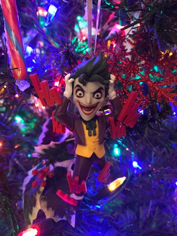 Joker Christmas.The Joker Holiday Christmas Ornament