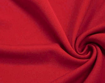 Aubrey WHITE Polyester Scuba Stretch Knit Fabric by the Yard SKU 5001