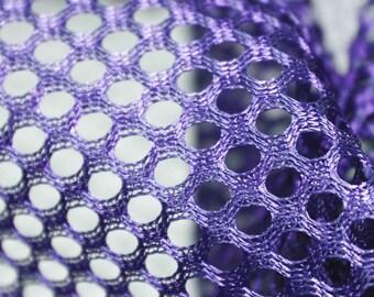 8ab148b55df PURPLE Polyester King Mesh Sports Mesh Fabric by the Yard, Half Yard and  Wholesale - SKU 3045