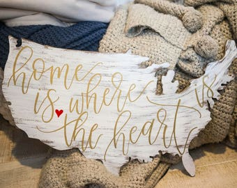 Home is where the heart is/ Personalized Home Decor