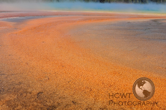 Digtial photographic print (Grand Prismatic Spring)