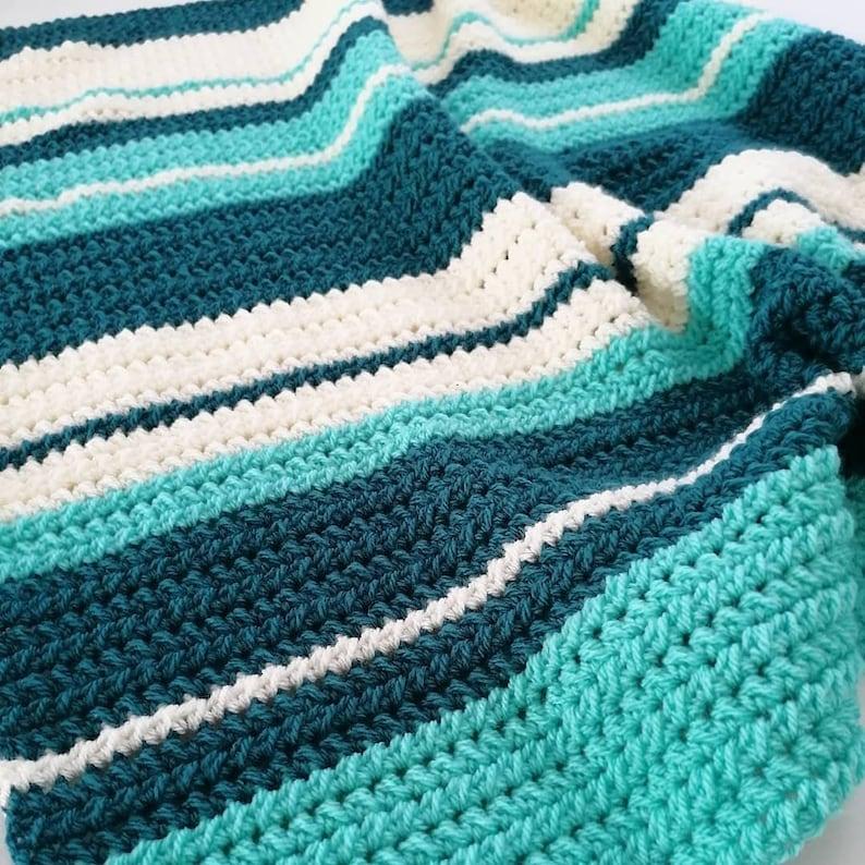 blue Maxi Cosi blanket crib blanket creme baby litter stroller blanket rug wrap cloth Crochet Baby Blanket 75 x 75 cm green