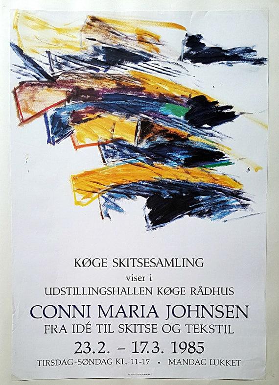 Vintage 1985 Matisse Louisiana Exhibition Poster