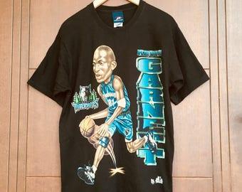 buy online f66f3 dff89 Kevin Garnett Überdrucken Tshirt